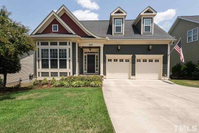 Cary NC Single Family Home For Sale: $537,000