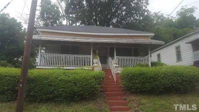 Durham Single Family Home For Sale: 1307 N Alston Avenue
