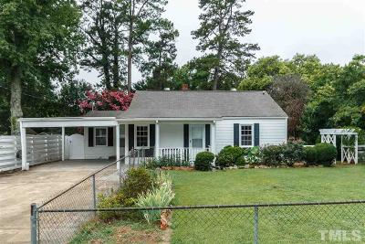 Raleigh Single Family Home Contingent: 2510 Springhill Avenue
