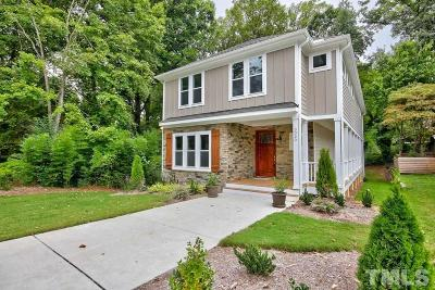 Raleigh Single Family Home For Sale: 3020 Mayview Road