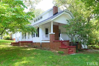 Pittsboro Single Family Home For Sale: 119 Launis Street