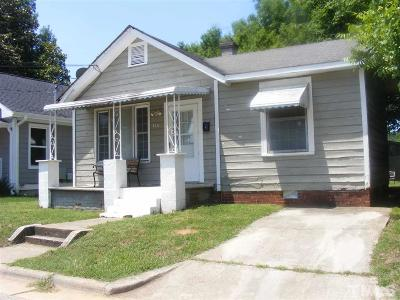 Raleigh Single Family Home For Sale: 816 Ellington Street