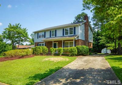 Raleigh Single Family Home For Sale: 3141 Merrianne Drive