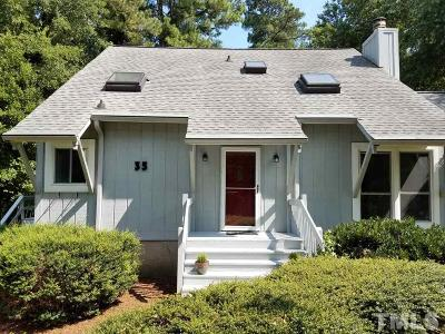 Pittsboro Single Family Home For Sale: 35 Benchmark