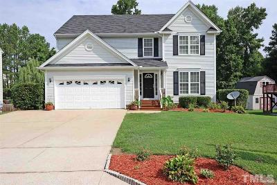 Wake Forest NC Single Family Home For Sale: $322,000