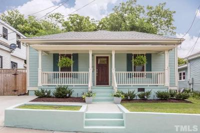 Single Family Home For Sale: 519 Haywood Street