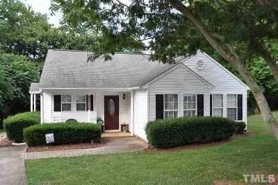 Siler City Single Family Home Pending: 1718 Singing Sound Way