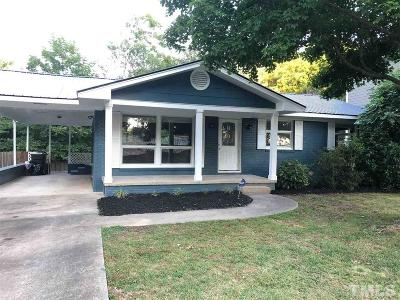 Raleigh Single Family Home For Sale: 401 Bart Street