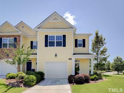 Wake Forest Townhouse For Sale: 3811 Wild Meadow Lane