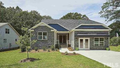 Garner Single Family Home For Sale: 106 Roaring Creek Drive