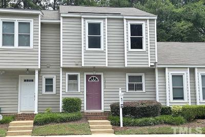 Raleigh Townhouse For Sale: 4362 Bona Court