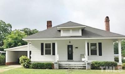 Harnett County Rental For Rent: 507 W D Street