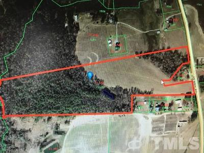 Durham County, Franklin County, Granville County, Guilford County, Johnston County, Lee County, Nash County, Orange County, Wake County Residential Lots & Land For Sale: Penny Road