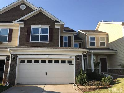 Woodcreek Townhouse For Sale: 129 Mayfield Drive