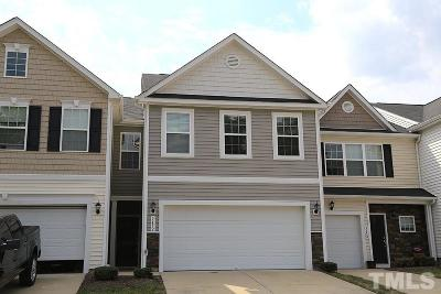 Raleigh Townhouse For Sale: 5452 Big Bass Drive