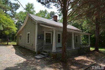 Apex Single Family Home Pending: 748 Marthas Chapel Road