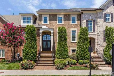 Cary Townhouse For Sale: 7626 McCrimmon Parkway