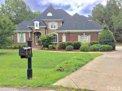 Johnston County Single Family Home For Sale: 48 Chambury Court