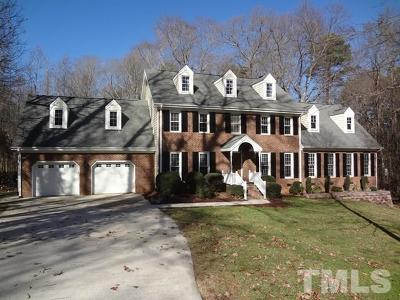 Raleigh Single Family Home Pending: 405 Brinkman Court