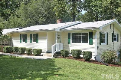 Durham Single Family Home For Sale: 4011 Valley Springs Road