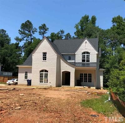 Raleigh Single Family Home Pending: 409 Ortega Road