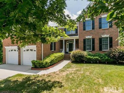 Raleigh Single Family Home For Sale: 9509 Misty Creek Lane