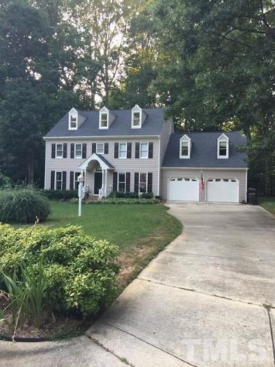 Cary Single Family Home For Sale: 110 Dorchester Pines Court