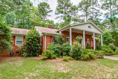 Durham Single Family Home For Sale: 3510 Randolph Road