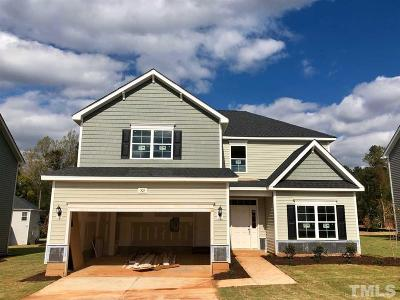 Youngsville Single Family Home Pending: 505 Club Center Drive
