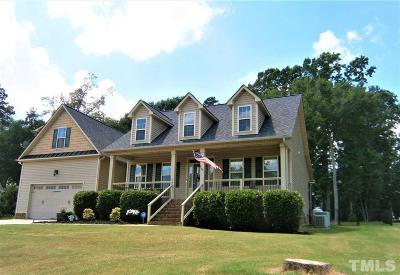 Garner Single Family Home For Sale: 53 Cinnecord Place