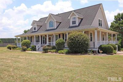 Johnston County Single Family Home Contingent: 1320 Lake Wendell Road