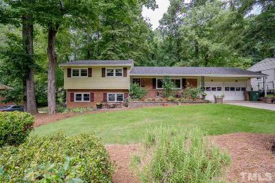 Cary Single Family Home For Sale: 824 Warren Avenue