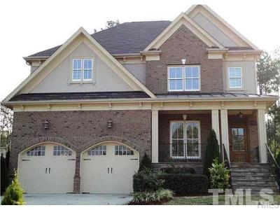 Wake County Rental For Rent: 10205 San Remo Place