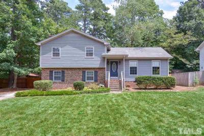 Raleigh Single Family Home For Sale: 6712 Miles Drive