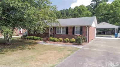 Dunn NC Single Family Home For Sale: $199,000