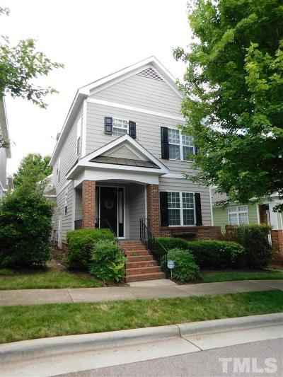 Wake County Rental For Rent: 1217 Harp Street