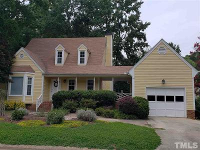 Wake County Rental For Rent: 1425 Morningsdale Drive