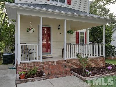 Raleigh Single Family Home For Sale: 1213 Stoneferry Lane