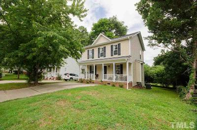 Wake Forest Single Family Home For Sale: 208 Whistling Swan