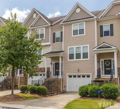 Morrisville Townhouse For Sale: 705 Keystone Park Drive #8