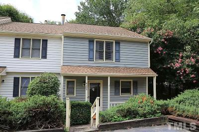 Raleigh Townhouse For Sale: 6600 English Ivy Lane