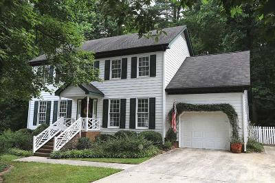 Raleigh Single Family Home For Sale: 8628 Abbotsbury Court