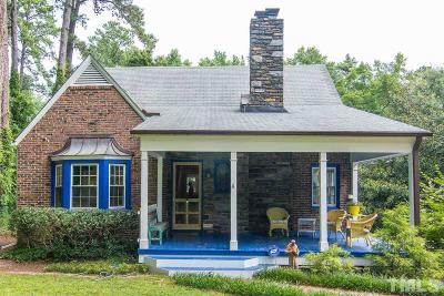 Durham Single Family Home For Sale: 2618 Pickett Road