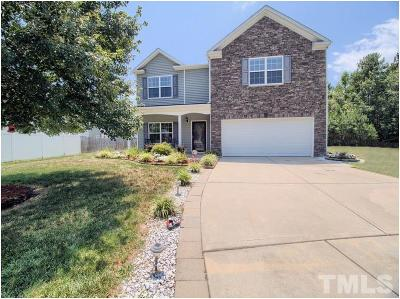 Raleigh Single Family Home For Sale: 6308 Paint Rock Lane