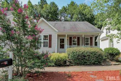 Holly Springs Single Family Home For Sale: 109 Cross Hill Lane