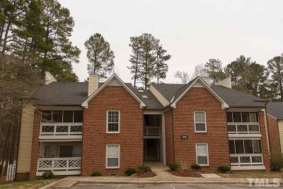 Chapel Hill Condo For Sale: 1010 Kingswood Drive #E