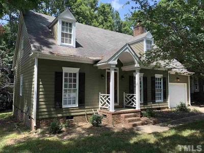Raleigh NC Single Family Home For Sale: $259,900