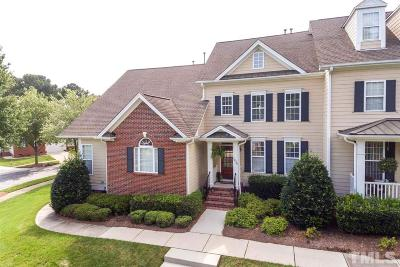 Wake Forest Townhouse For Sale: 1236 Colonial Club Road