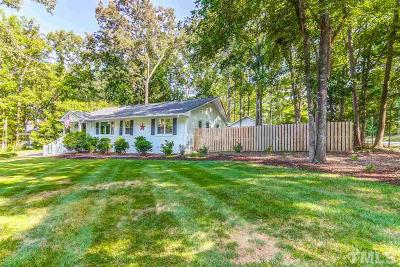 Durham County Single Family Home For Sale: 100 Nottingham Lane