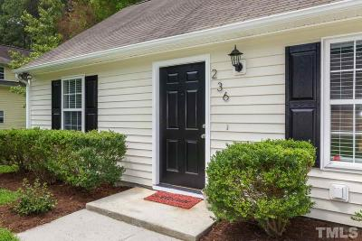 Durham Single Family Home For Sale: 236 Ruby Ridge Road